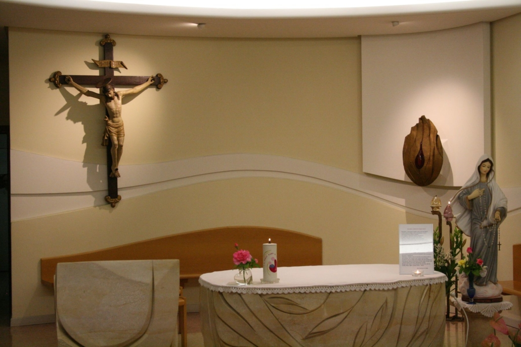 Tabernakel in der Kapelle der seligen Luidvina, Padua